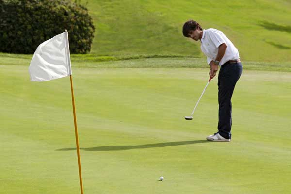 putting green Club de Golf Llavaneras