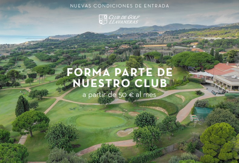 membre du club de golf Llavaneras