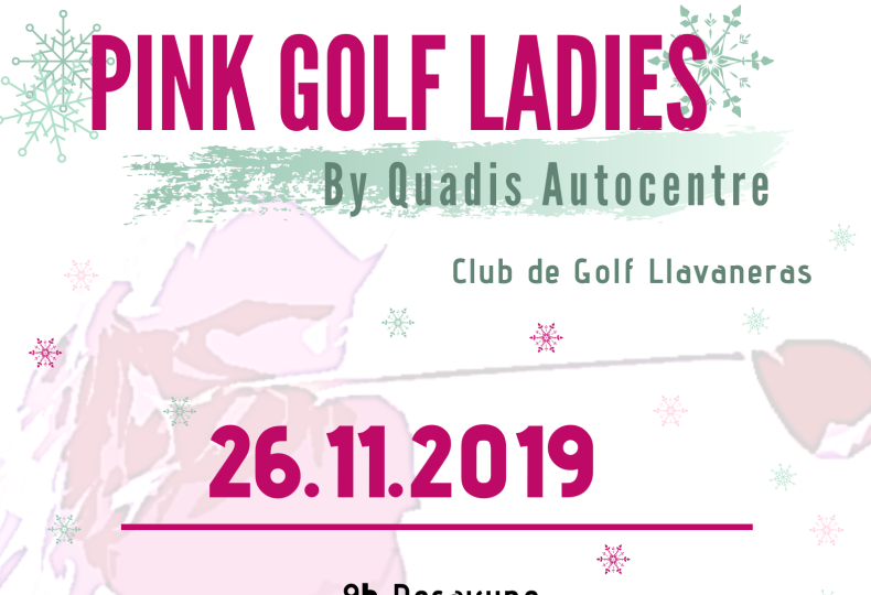 Torneo Pink Golf LAdies by Quadis Autocentre