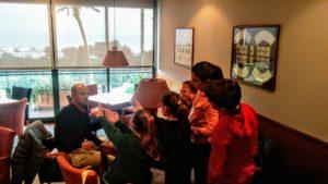 Clase de golf infantil en el Club de Golf Llavaneras